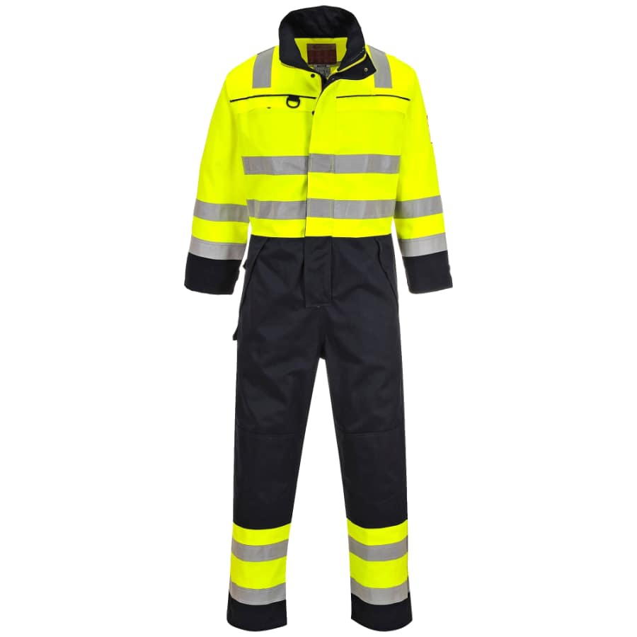 Portwest FR60 Hi Vis Multi Norm Coverall